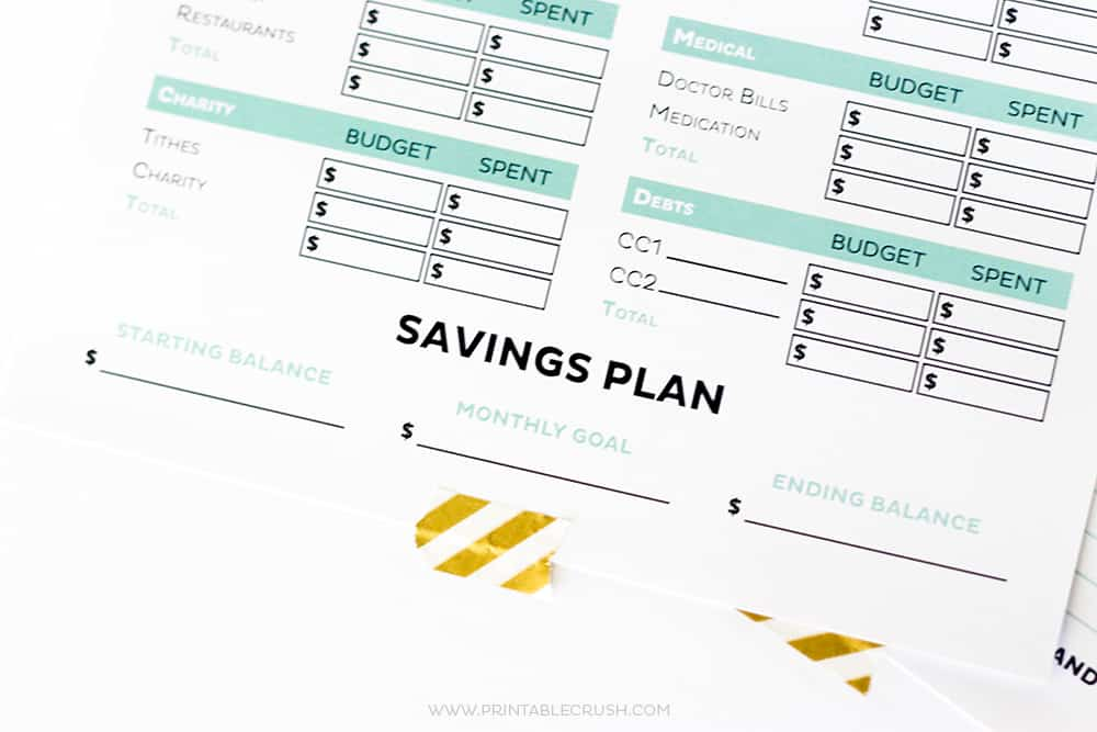 Free Printable Budget Planning Worksheet