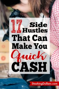 How to Make 1000 Fast. Need money? Try these 17 side hustles to make money fast #sidehustles #make100aday #makemoney