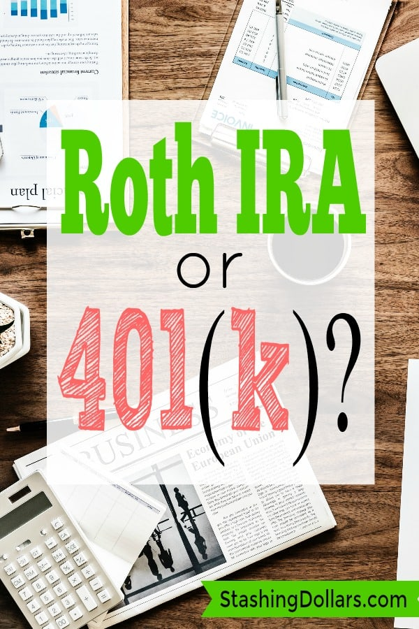 Roth IRA vs 401(k)