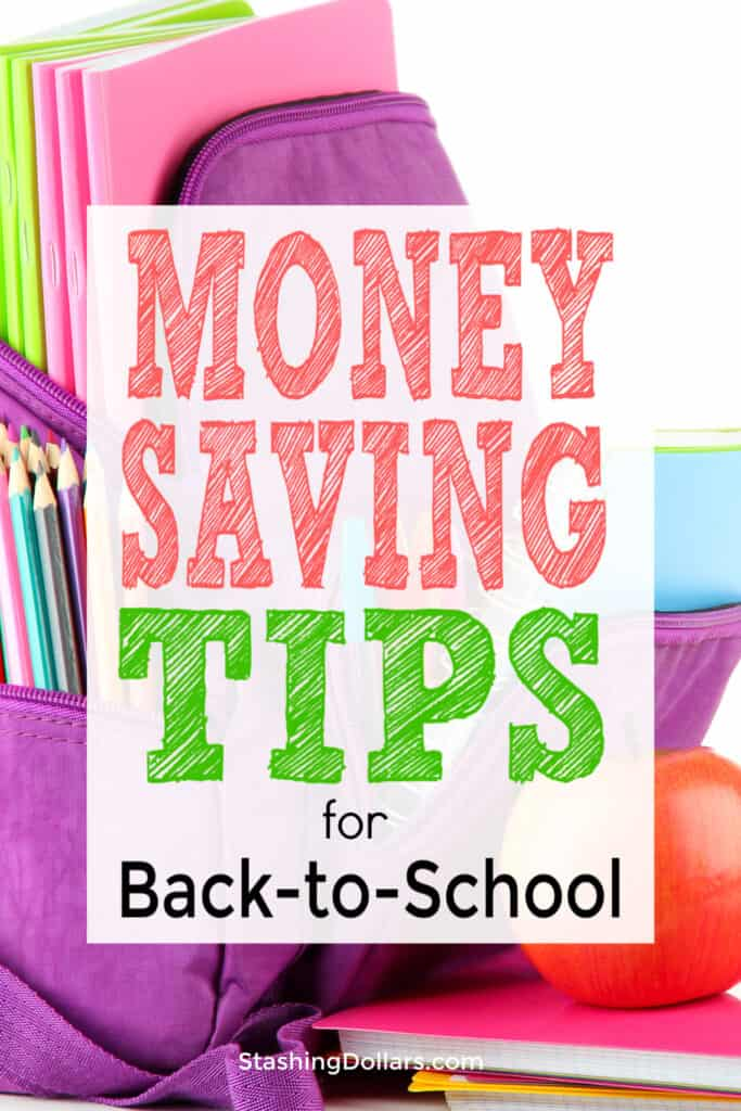 Save Money Back to School